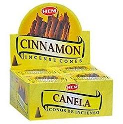 Cinnamon, Kanel rökelsekoner, HEM