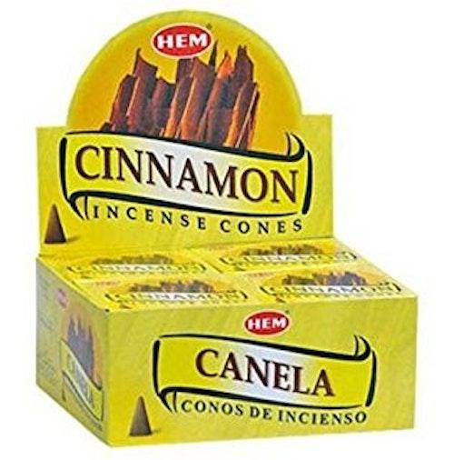 Cinnamon, rökelsekoner, HEM