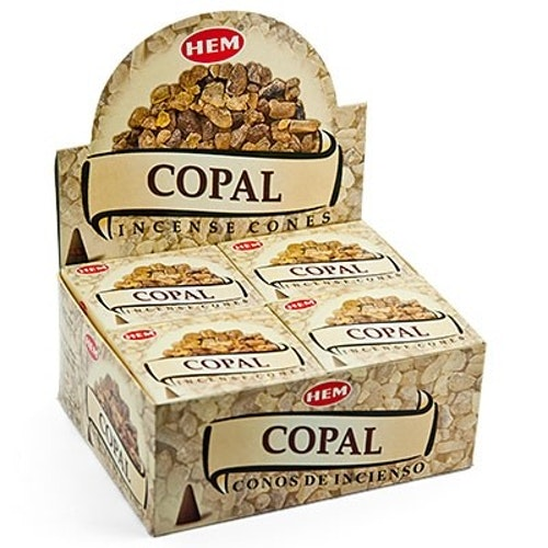 Copal, Kopal rökelsekoner, HEM