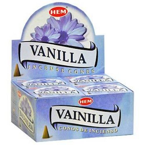 Vanilla, Vanilj rökelsekoner, HEM