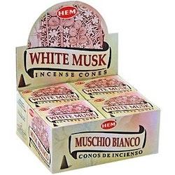 White Musk, rökelsekoner, HEM