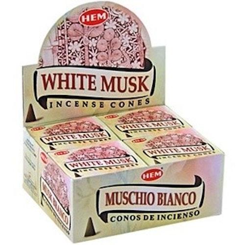 White Musk, Mysk rökelsekoner, HEM
