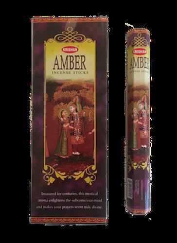 Amber, Bärnsten rökelse, Krishan