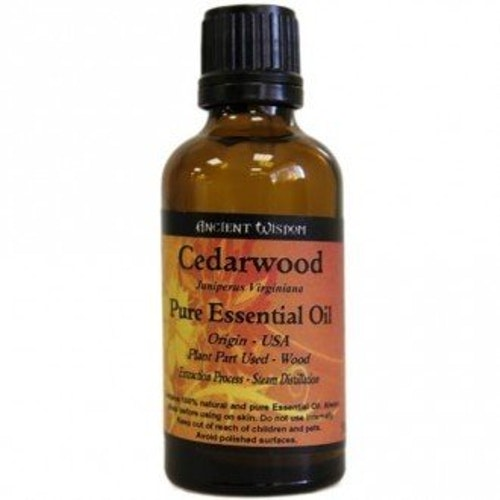 Cederträ, Cedarwood, Eterisk Olja, Ancient Wisdom, 50ml