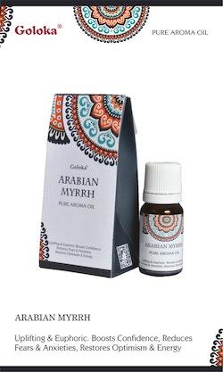Arabian Myrrh, Doftolja, 10ml Goloka
