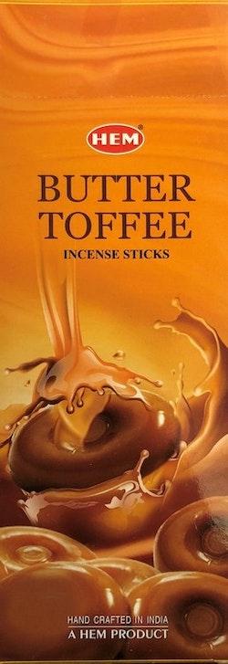 Butter Toffee, rökelse, HEM