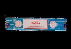 Karma, Rökelse, Satya