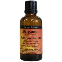 Bergamot Eterisk Olja, Ancient Wisdom, 50ml