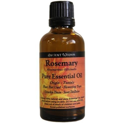Rosmarin, Rosemary, Eterisk Olja, Ancient Wisdom, 50ml