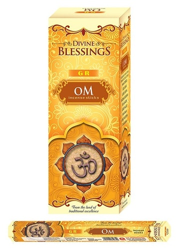 OM, rökelse, G.R Incense