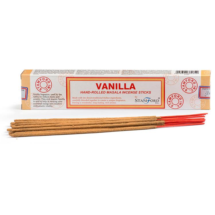 Vanilla, Vanilj, rökelse, Stamford Masala