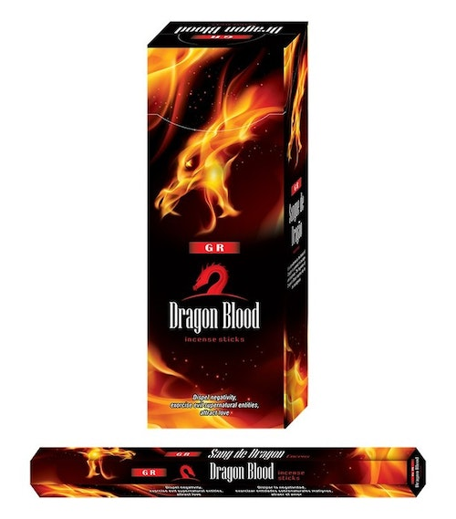 Dragons Blood, rökelse, G.R Incense