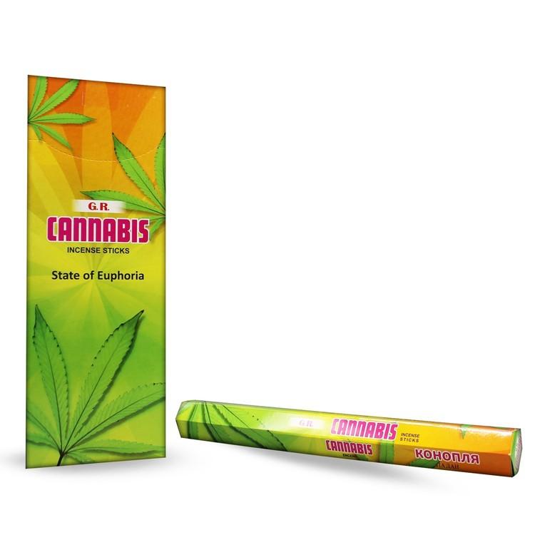 Cannabis, rökelse, G.R Incense