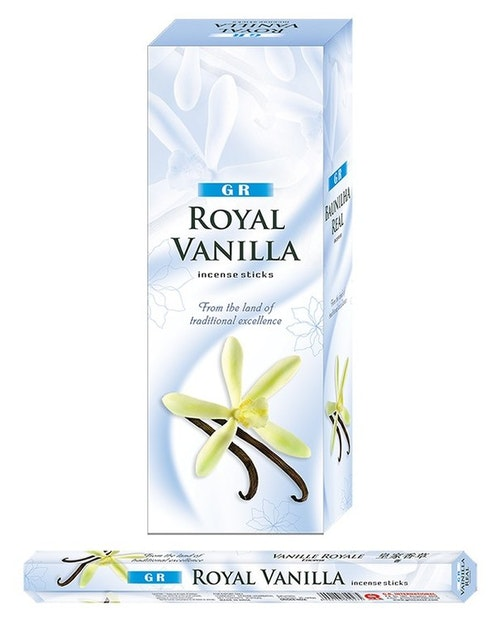 Royal Vanilla, rökelse, G.R Incense