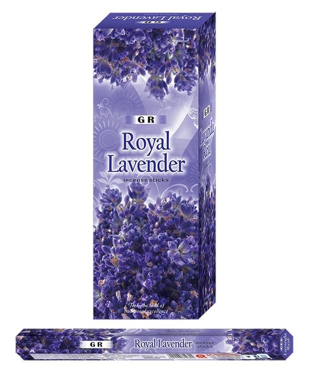 Royal Lavender, rökelse, G.R Incense