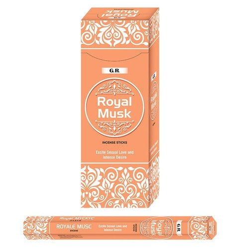 Royal Musk, rökelse, G.R Incense
