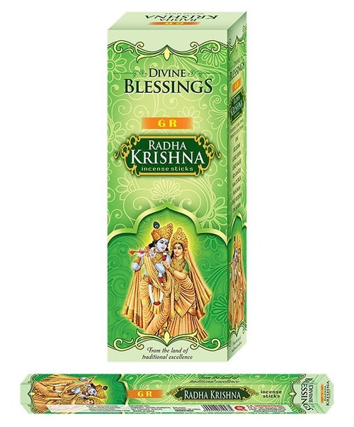 Radha Krishna, rökelse, G.R Incense