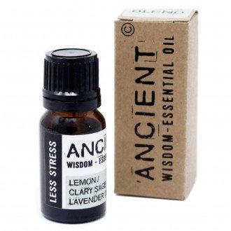 Less Stress, Anti-stress Boxed Eterisk Olja, Ancient Wisdom, 10ml