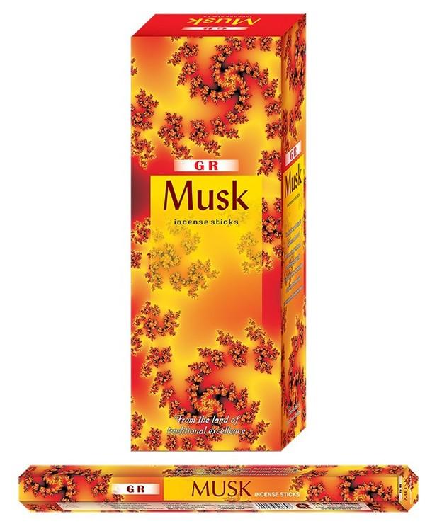 Musk, Mysk rökelse, G.R Incense