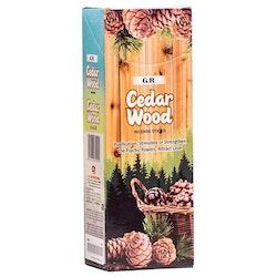 Cedarwood, rökelse, G.R Incense