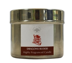 Dragons Blood 150g Doftljus, Green Tree