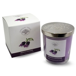 French Lavender 200g Doftljus, Green Tree