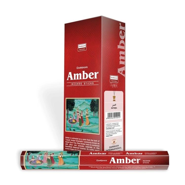 Amber, Bärnsten rökelse, Darshan