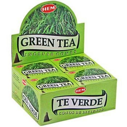 Green Tea, rökelsekoner, HEM