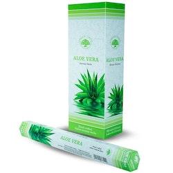 Aloe Vera, rökelse, Green Tree