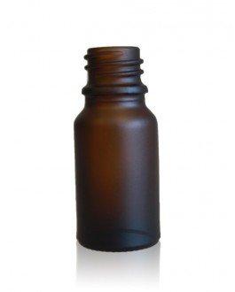 Frostad glasflaska 10 ml, Amber
