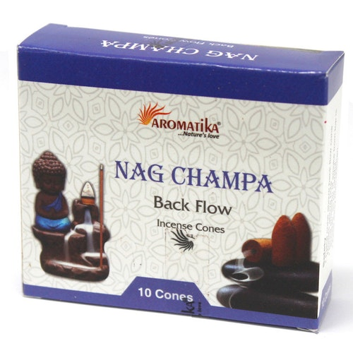 Nag Champa Backflow rökelser, Aromatica