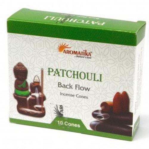 Patchouli Backflow rökelser, Aromatica