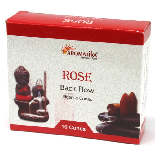 Rose, Ros Backflow rökelser, Aromatica