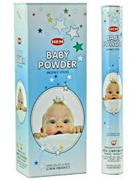 Baby Powder, rökelse, HEM