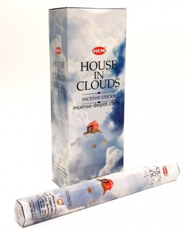 House in Clouds, rökelse, HEM