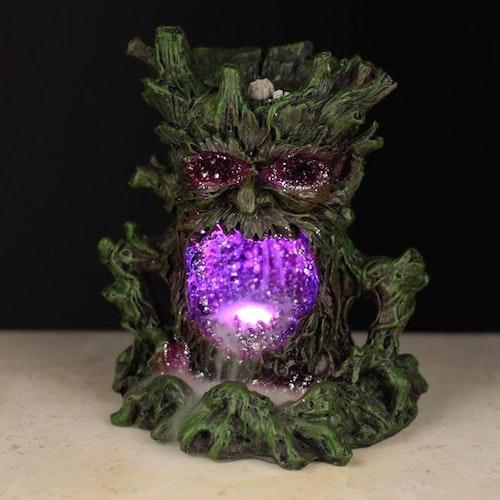 Kristall Green Man LED, Backflow Rökelsebrännare