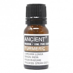 Turmeric, Gurkmeja Eterisk Olja, Ancient Wisdom, 10ml