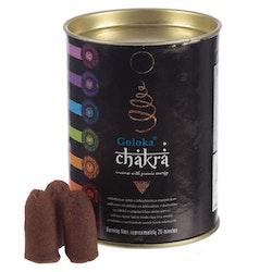 Chakra, Backflow rökelser, Goloka