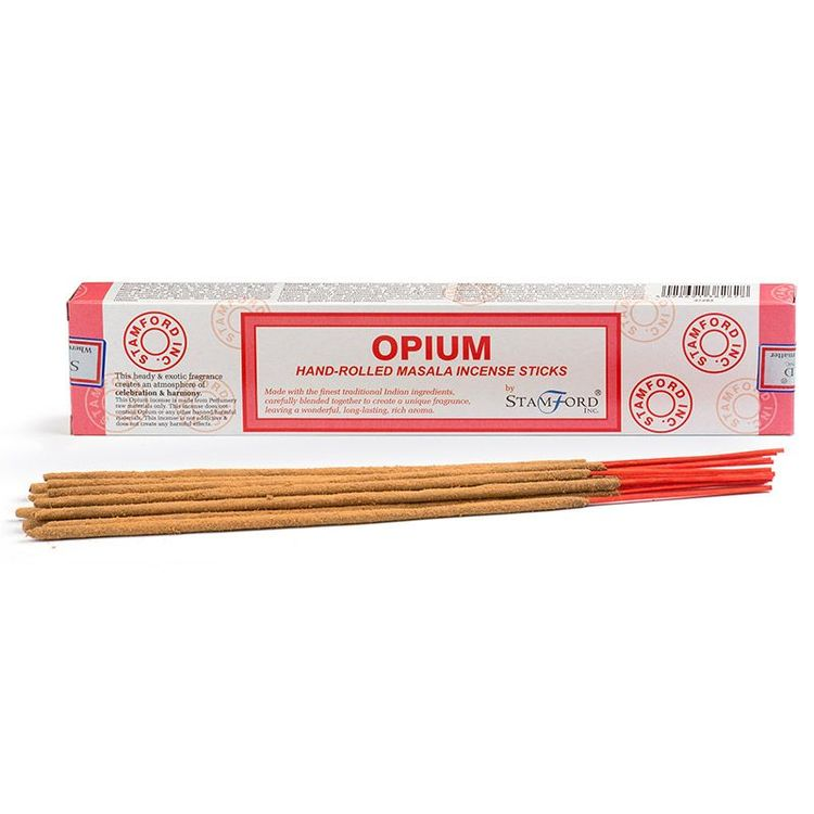 Opium, rökelse, Stamford Masala