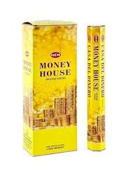 Money House, rökelse, HEM