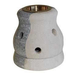 Combo Shaped, Sandsten, Aromalampa