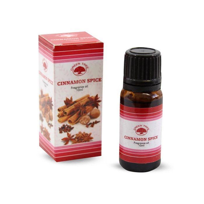 Cinnamon Spice, Kanel Doftolja, Green Tree 10ml