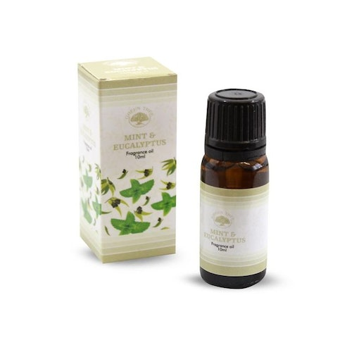 Mint & Eucalyptus, Doftolja, Green Tree 10ml