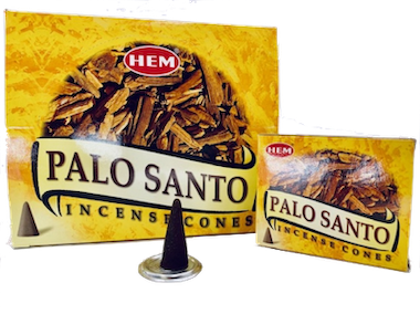 Palo Santo rökelsekoner, HEM