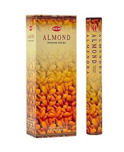Almond, rökelse, HEM