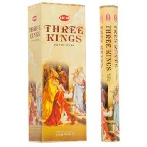 Three Kings, rökelse, HEM