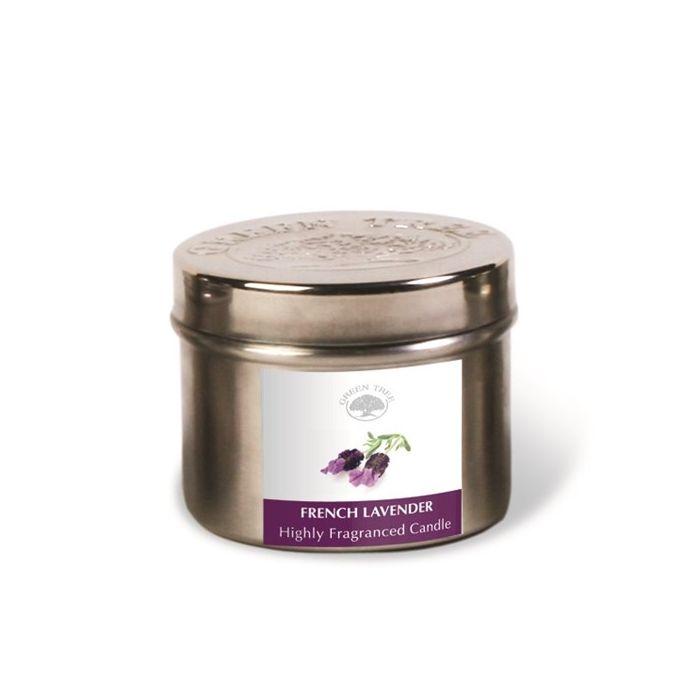 French Lavender 150g Doftljus, Green Tree