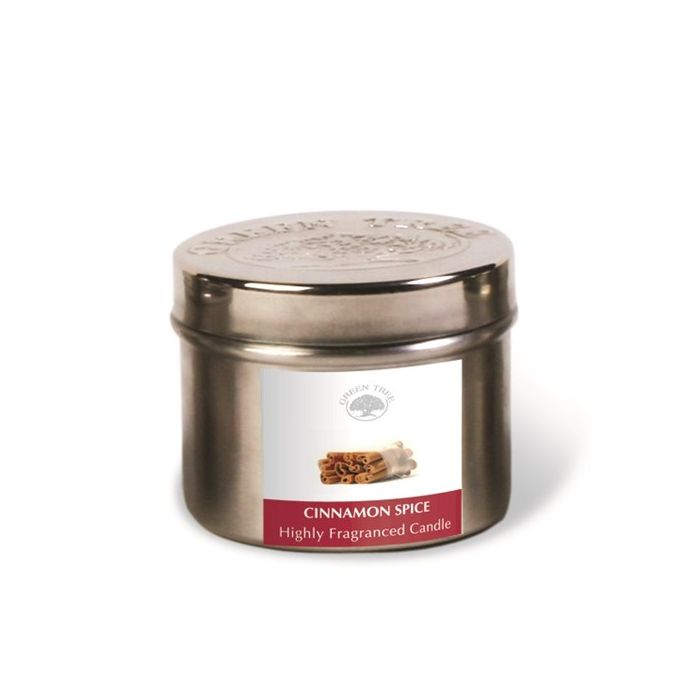 Cinnamon Spice 150g Doftljus, Green Tree