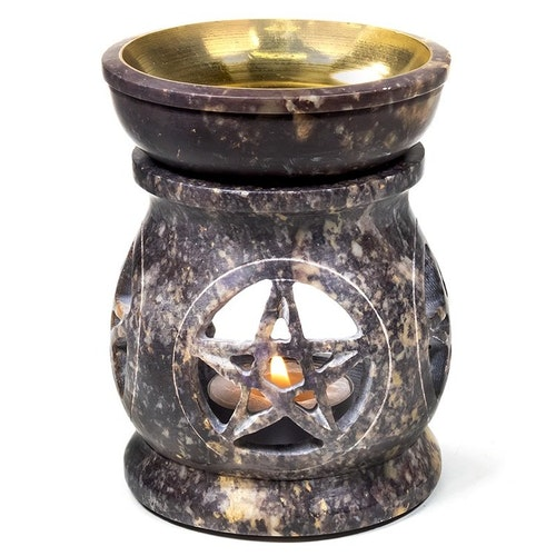 Pentagram täljsten, Aromalampa