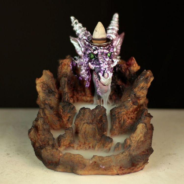 Purple Dragon A LED, Backflow Rökelsebrännare